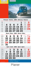 Terminic calendrier mural